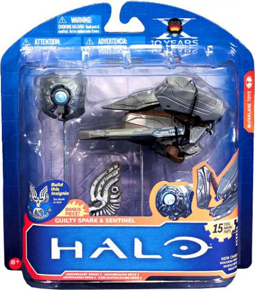 McFarlane Toys Halo 10th Anniversary Series 2 Sentinel & Guilty Spark Action Figure 2-Pack [Loose]