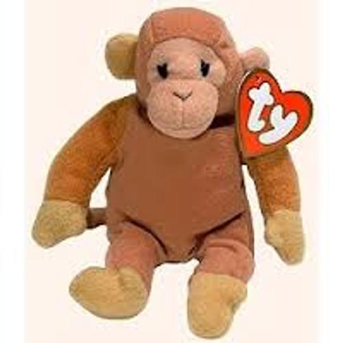 Beanie Babies McDonalds 1998 Bongo the Monkey Teenie Beanie Plush