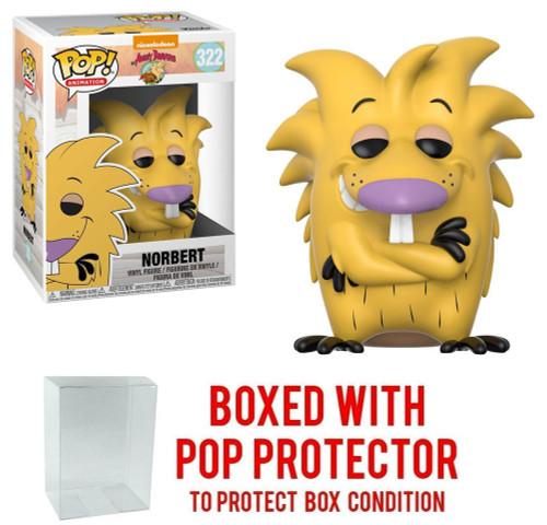 Funko Nickelodeon Angry Beavers POP! TV Norbert Vinyl Figure [With Pop Protector]