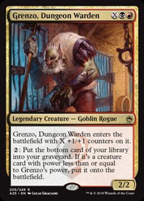 MtG Masters 25 Rare Grenzo, Dungeon Warden #205