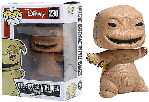 Funko Nightmare Before Christmas POP! Disney Oogie Boogie with Bugs Exclusive Vinyl Figure #230 [Damaged Package]