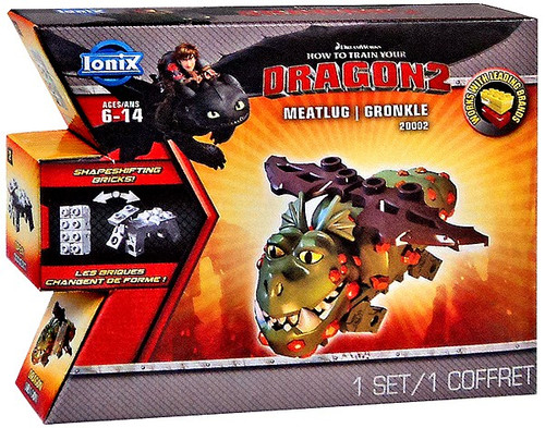 How to Train Your Dragon 2 Ionix Meatlug Gronckle #20002 [Damaged Package]