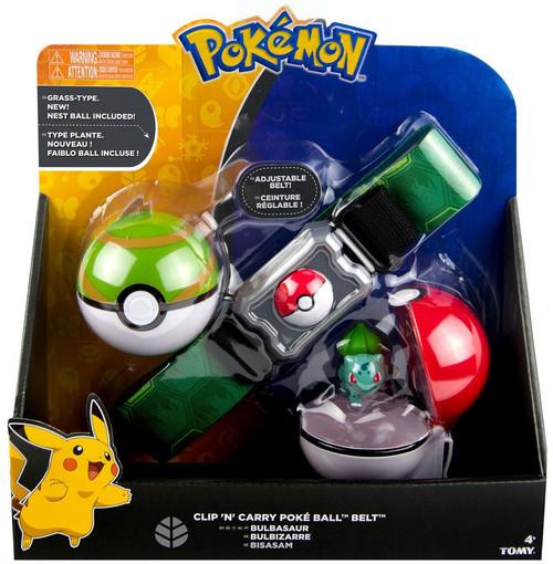 Pokemon Bulbasaur & Nest Ball Clip 'n' Carry Poke Ball Belt [Damaged Package]