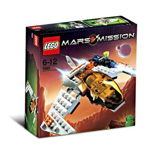 LEGO Mars Mission MX-11 Astro Fighter Set #7695 [Damaged Package]