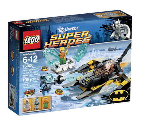 LEGO DC Universe Super Heroes Arctic Batman vs. Mr. Freeze: Aquaman on Ice Set #76000 [Damaged Package]