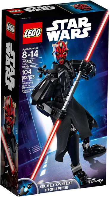 LEGO Star Wars Buildable Figures Darth Maul Set #75537