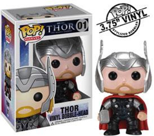 Funko POP! Marvel Thor Vinyl Bobble Head #01 [01]