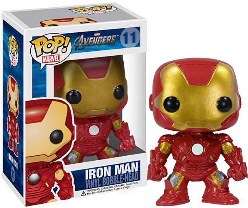 Funko Avengers POP! Marvel Iron Man Vinyl Bobble Head #11 [Avengers]