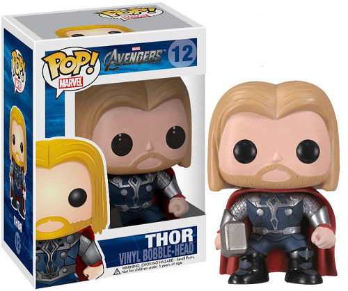 Funko Avengers POP! Marvel Thor Vinyl Bobble Head #12 [Avengers]
