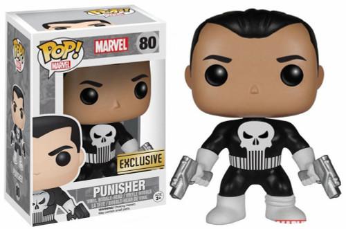 Funko POP! Marvel Punisher Exclusive Vinyl Bobble Head #80