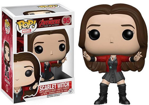 Funko Avengers Age of Ultron POP! Marvel Scarlet Witch Vinyl Bobble Head #95 [Damaged Package, Mint Figures]