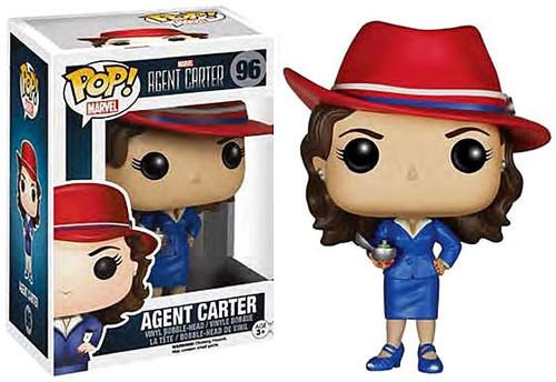 Funko POP! Marvel Agent Carter Vinyl Bobble Head #96 [Damaged Package]
