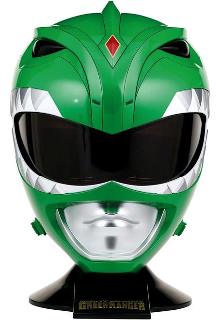 Power Rangers Mighty Morphin Legacy Green Ranger Helmet [Damaged Package, Full Scale]