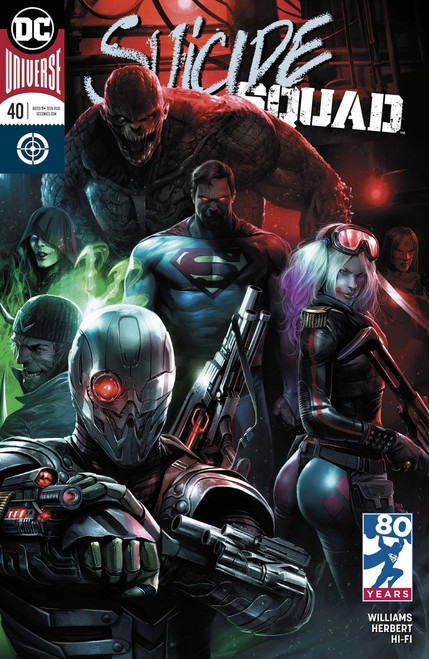 DC Suicide Squad #40 Comic Book [Variant]