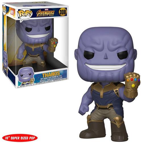 Funko Avengers Infinity War POP! Marvel Thanos Exclusive 10-Inch Vinyl Bobble Head [Super-Sized, Infinity Gauntlet]