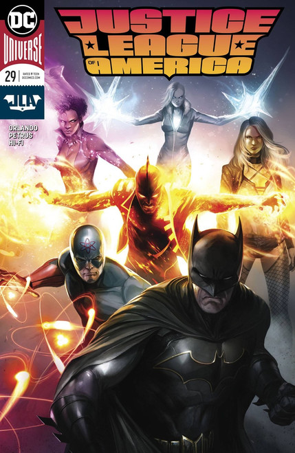 DC Justice League of America #29 Comic Book [Variant]