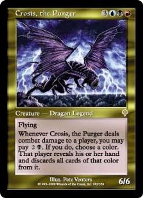 MtG Invasion Rare Crosis, the Purger #242