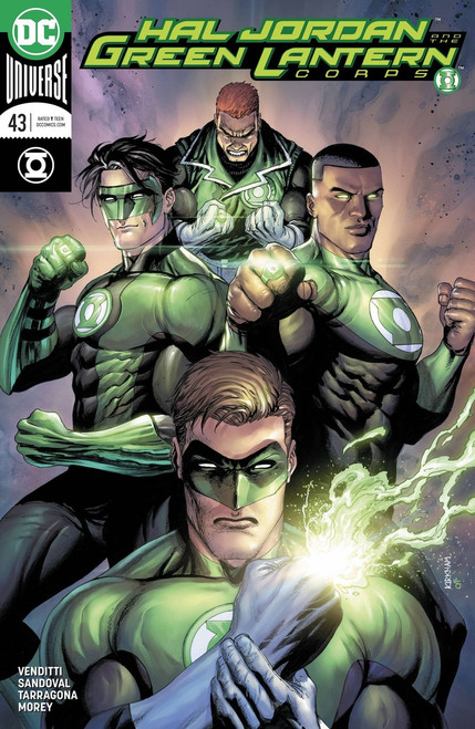DC Hal Jordan and The Green Lantern Corps #43 Comic Book [Variant]