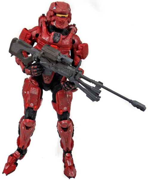 McFarlane Toys Halo 4 Series 1 Spartan Warrior Action Figure [Red, Loose]