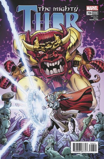 Marvel Comics The Mighty Thor #706 Comic Book [Simonson Variant]