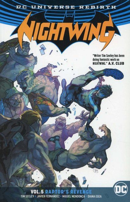 DC Nightwing Raptor's Revenge Trade Paperback Comic Book #5