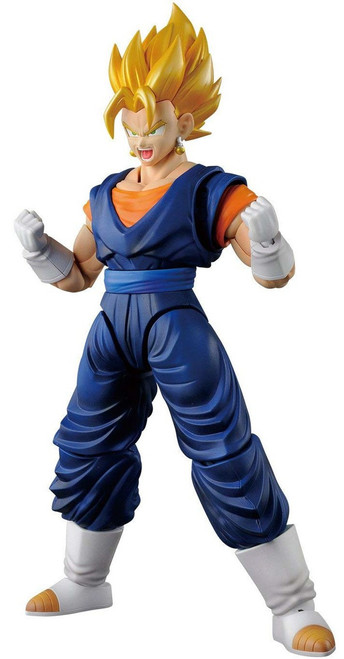 Dragon Ball Z Figure-Rise Standard Super Saiyan Vegito 6-Inch Model Kit Figure