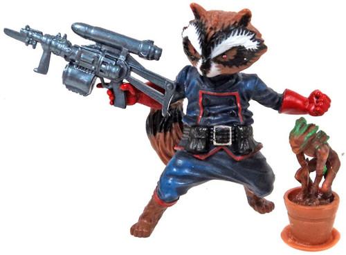 Marvel Universe Super Hero Team Packs Rocket Raccoon & Groot Action Figure [Loose, No Package]