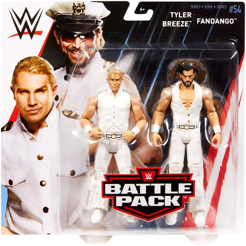 WWE Wrestling Battle Pack Series 54 Fandango & Tyler Breeze Action Figure 2-Pack