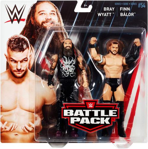 WWE Wrestling Battle Pack Series 54 Finn Balor & Bray Wyatt Action Figure 2-Pack
