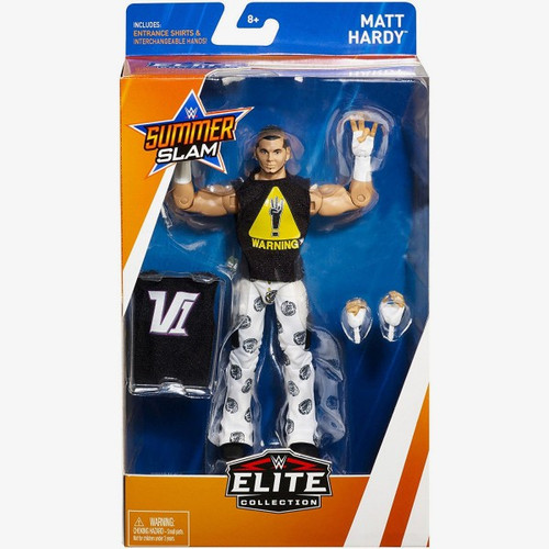 WWE Wrestling Elite Collection Summer Slam 2018 Matt Hardy Action Figure