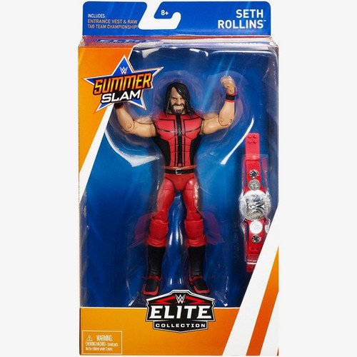 WWE Wrestling Elite Collection Summer Slam 2018 Seth Rollins Action Figure