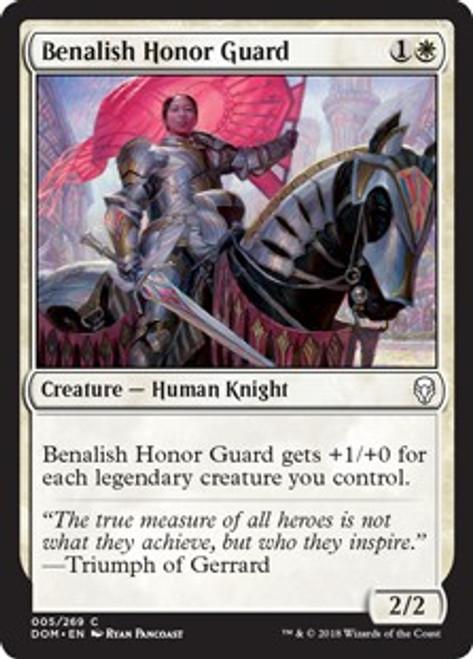 MtG Dominaria Common Benalish Honor Guard #5