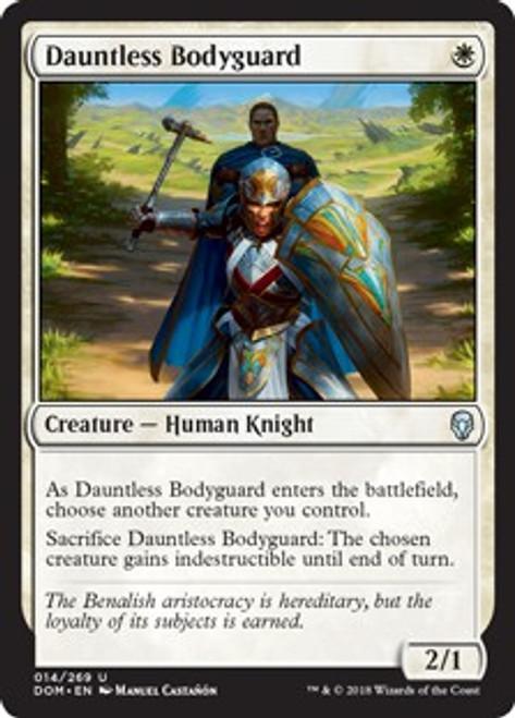 MtG Dominaria Uncommon Dauntless Bodyguard #14