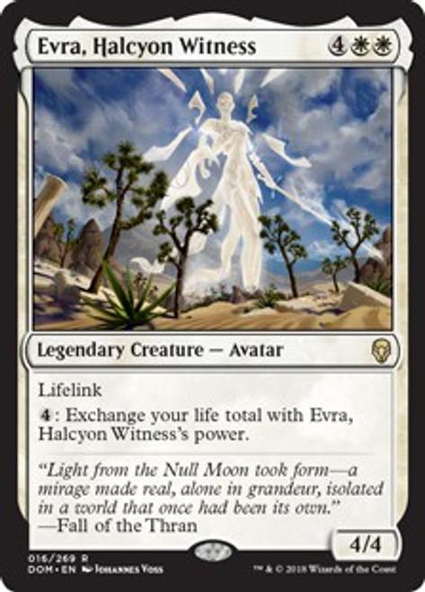 MtG Dominaria Rare Evra, Halcyon Witness #16