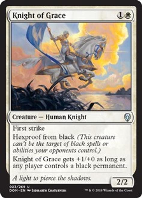 MtG Dominaria Uncommon Foil Knight of Grace #23