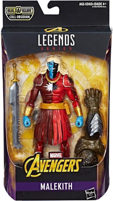Avengers Marvel Legends Cull Obsidian Series Malekith Action Figure