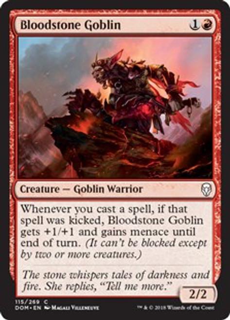MtG Dominaria Common Bloodstone Goblin #115