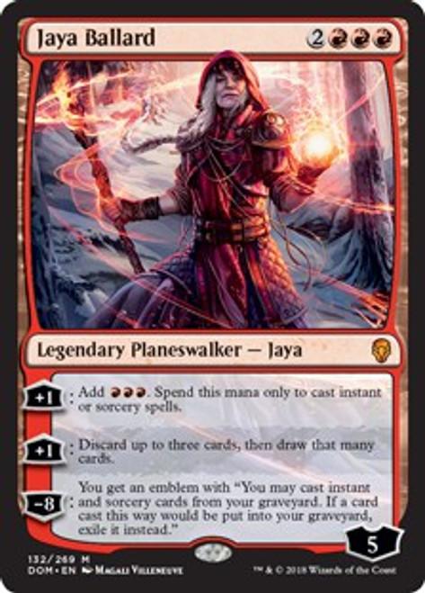 MtG Dominaria Mythic Rare Jaya Ballard #132