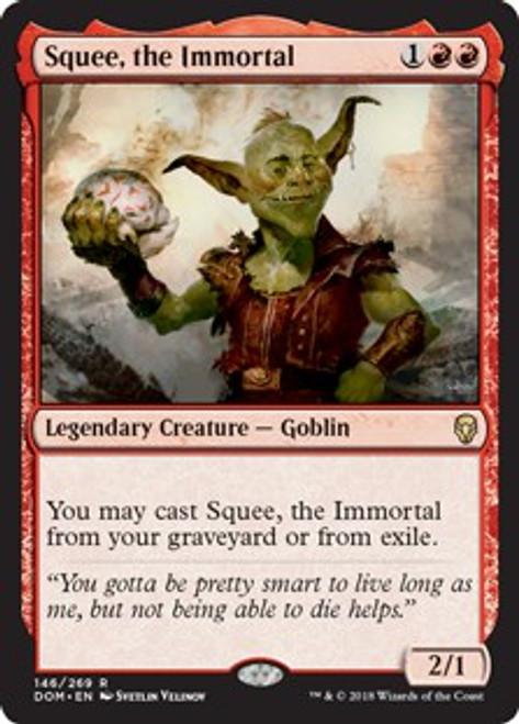 MtG Dominaria Rare Squee, the Immortal #146