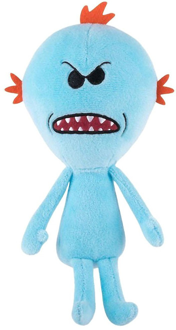 Funko Rick & Morty Galactic Plushies XL Mr. Meeseeks Exclusive 19-Inch Plush [Mad]