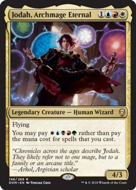 MtG Dominaria Rare Jodah, Archmage Eternal #198