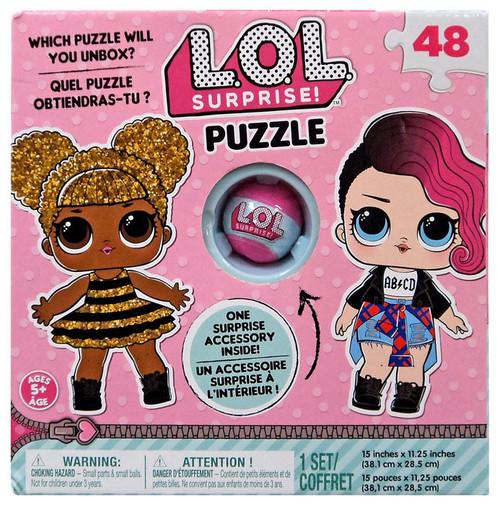 LOL Surprise! 48 Piece Puzzle [Includes Surprise Accessory!]