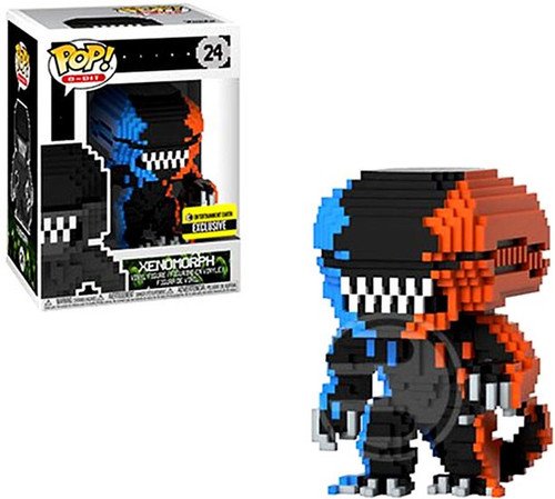 Funko Alien POP! 8-Bit Xenomorph Exclusive Vinyl Figure #24