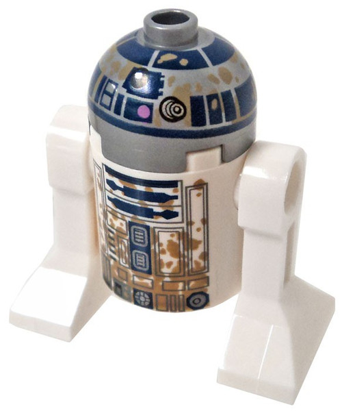 LEGO Star Wars R2-D2 Minifigure [with Dirt Stains Loose]