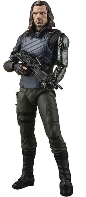 Marvel Avengers Infinity War S.H. Figuarts Bucky & Tamashii Effect Impact Action Figure