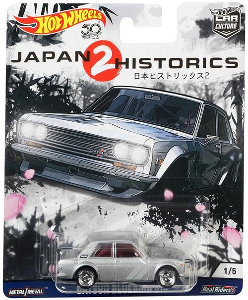 Hot Wheels Car Culture Japan Historics 2 Datsun Bluebird 510 Diecast Car #1/5