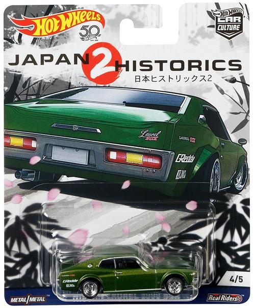 Hot Wheels Car Culture Japan Historics 2 Nissan Laurel 2000 SGX Die-Cast Car #4/5
