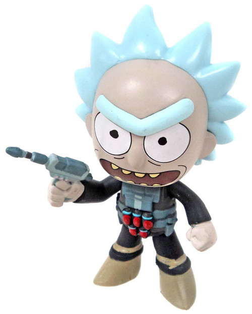 Funko Rick & Morty Series 2 Prison Break Rick 1/12 Mystery Mini [Loose]