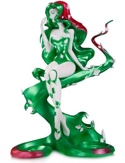 DC Artist Alley Poison Ivy 6.75-Inch PVC Collector Statue [Sho Murase, Holiday Variant]