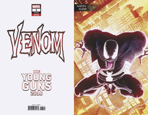 Marvel Comics Venom #1 Comic Book [Kuder Young Guns Variant]